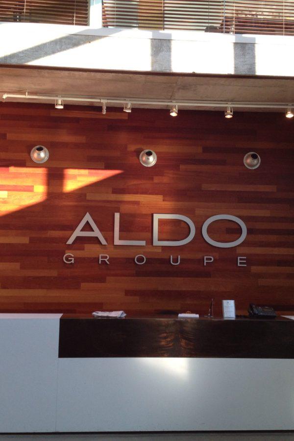 Aldo - Réception bureau chef