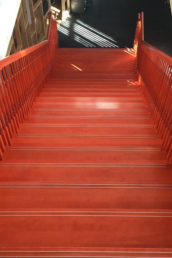 Projet commercial - escalier