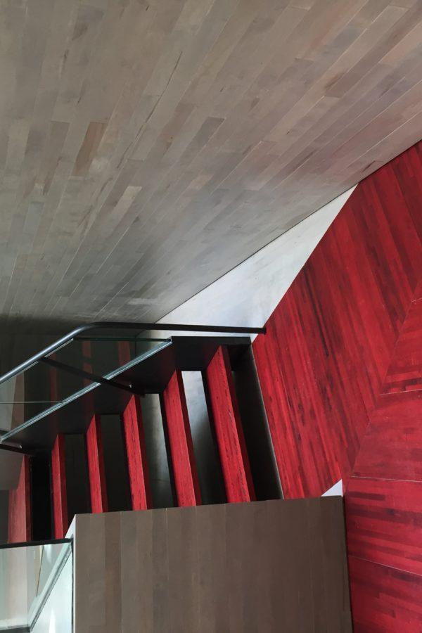 Wilder studi de danse - Escalier
